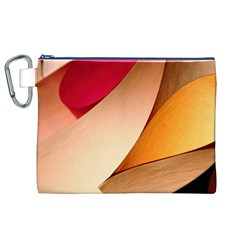 PRETTY ABSTRACT ART Canvas Cosmetic Bag (XL)