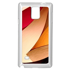 PRETTY ABSTRACT ART Samsung Galaxy Note 4 Case (White)