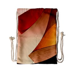 PRETTY ABSTRACT ART Drawstring Bag (Small)