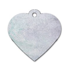 PAPER COLORS Dog Tag Heart (Two Sides)