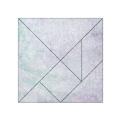 PAPER COLORS Acrylic Tangram Puzzle (4  x 4 )