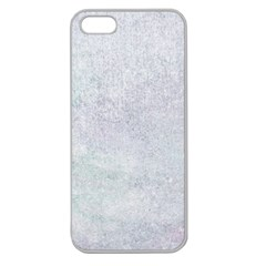 PAPER COLORS Apple Seamless iPhone 5 Case (Clear)