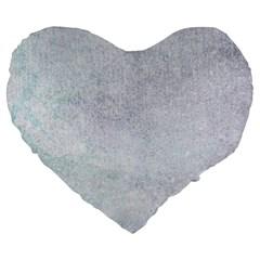 PAPER COLORS Large 19  Premium Heart Shape Cushions