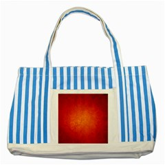 ORANGE DOT ART Striped Blue Tote Bag