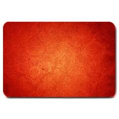 ORANGE DOT ART Large Doormat