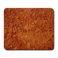 ORANGE CLAY DIRT Large Mousepads
