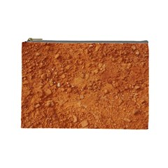 ORANGE CLAY DIRT Cosmetic Bag (Large)