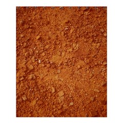 ORANGE CLAY DIRT Shower Curtain 60  x 72  (Medium)