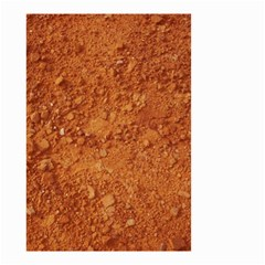 ORANGE CLAY DIRT Small Garden Flag (Two Sides)