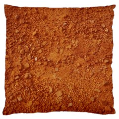 ORANGE CLAY DIRT Large Cushion Cases (One Side)