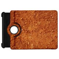 ORANGE CLAY DIRT Kindle Fire HD Flip 360 Case