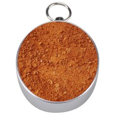 Orange Clay Dirt Silver Compasses