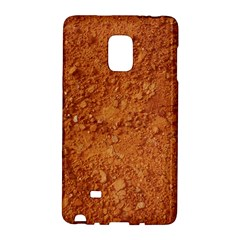 ORANGE CLAY DIRT Galaxy Note Edge