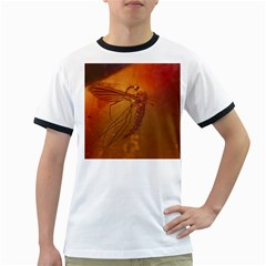 MOSQUITO IN AMBER Ringer T-Shirts