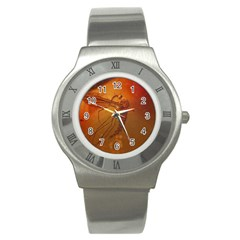 MOSQUITO IN AMBER Stainless Steel Watches