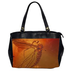 MOSQUITO IN AMBER Office Handbags (2 Sides)