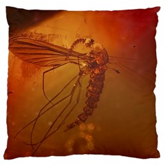 MOSQUITO IN AMBER Large Cushion Cases (One Side)