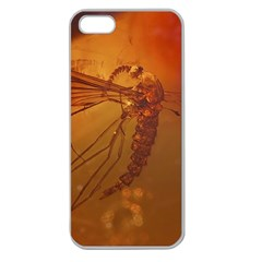 MOSQUITO IN AMBER Apple Seamless iPhone 5 Case (Clear)