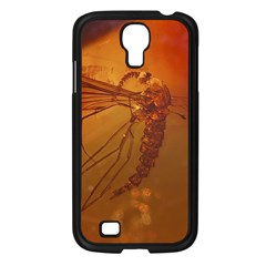 MOSQUITO IN AMBER Samsung Galaxy S4 I9500/ I9505 Case (Black)