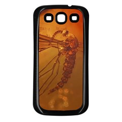 MOSQUITO IN AMBER Samsung Galaxy S3 Back Case (Black)