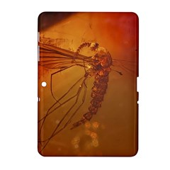 MOSQUITO IN AMBER Samsung Galaxy Tab 2 (10.1 ) P5100 Hardshell Case