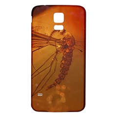 MOSQUITO IN AMBER Samsung Galaxy S5 Back Case (White)