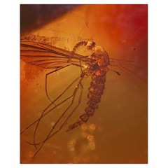MOSQUITO IN AMBER Drawstring Bag (Small)
