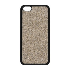 LIGHT BEIGE SAND TEXTURE Apple iPhone 5C Seamless Case (Black)
