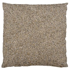 LIGHT BEIGE SAND TEXTURE Large Flano Cushion Cases (Two Sides)