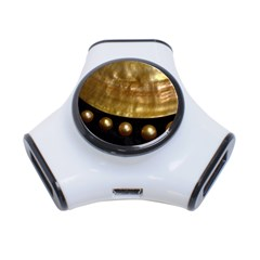 GOLDEN PEARLS 3-Port USB Hub