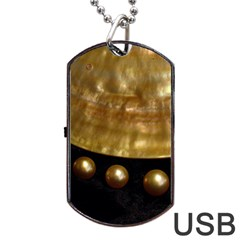 GOLDEN PEARLS Dog Tag USB Flash (Two Sides)