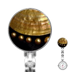 GOLDEN PEARLS Stainless Steel Nurses Watches