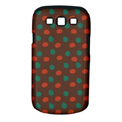Distorted polka dots pattern Samsung Galaxy S III Classic Hardshell Case (PC+Silicone)