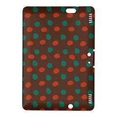 Distorted polka dots pattern Kindle Fire HDX 8.9  Hardshell Case