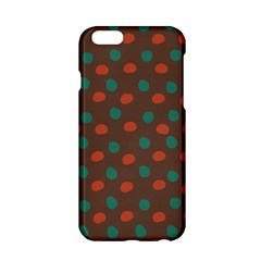 Distorted polka dots pattern Apple iPhone 6 Hardshell Case