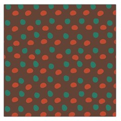 Distorted polka dots pattern Satin Scarf