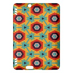 Stars and honeycomb pattern Kindle Fire HDX Hardshell Case