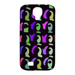 Misc shapes Samsung Galaxy S4 Classic Hardshell Case (PC+Silicone)
