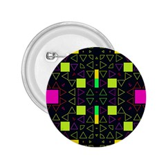 Triangles and squares 2.25  Button
