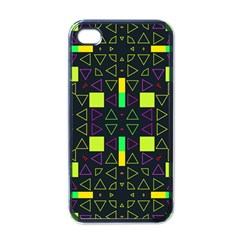 Triangles and squares Apple iPhone 4 Case (Black)
