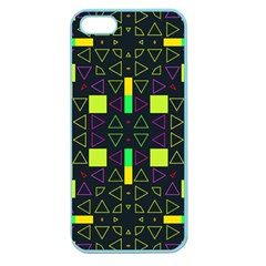 Triangles And Squares Apple Seamless Iphone 5 Case (color)