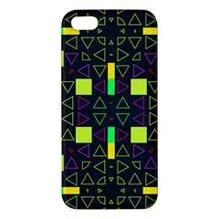 Triangles and squares iPhone 5S Premium Hardshell Case