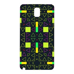 Triangles and squares Samsung Galaxy Note 3 N9005 Hardshell Back Case