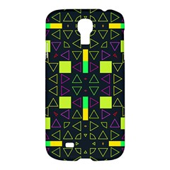 Triangles and squares	Samsung Galaxy S4 I9500/I9505 Hardshell Case $10