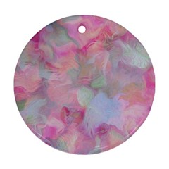 Soft Floral Pink Ornament (round)