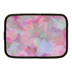 Soft Floral Pink Netbook Case (Medium)