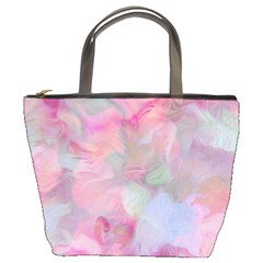 Soft Floral Pink Bucket Bags