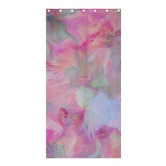 Soft Floral Pink Shower Curtain 36  x 72  (Stall)