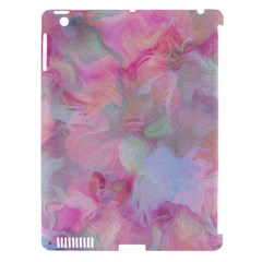 Soft Floral Pink Apple iPad 3/4 Hardshell Case (Compatible with Smart Cover)