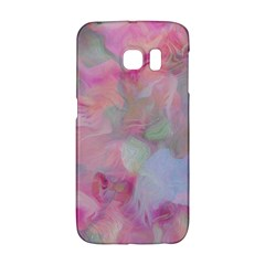 Soft Floral Pink Galaxy S6 Edge